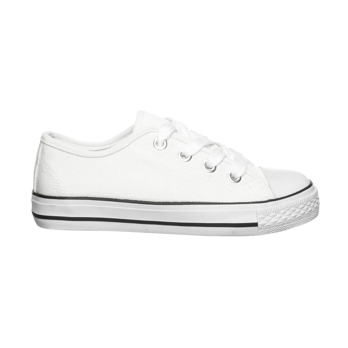 Chaussure toile 26-35 Panther - Blanc